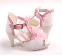 Free shipping 1/3 1/4 high quality fashion cute pink bjd shoes