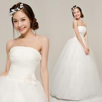 2012 elegant sweet bride wedding brief winter wedding qi
