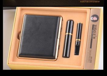 Zobo filter cigarette holder DO type three pieces set(Cigarette holder, cigarette case, Cigarette holder box)
