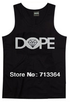 Summer  2014 dope male hip-hop hiphop 100% women's male cotton undershirt lovers design