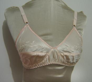 Thin silk bra silk bra underwear silk