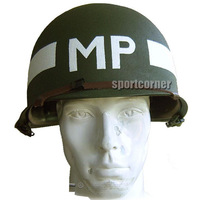 New Replica WW2 US army military M1 metal Helmet MP for hunting airsoft paintball free shipping