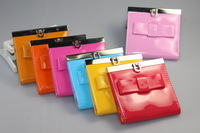 Women Card Holders Short-Length Wallets For Women Lady's Bow-tie Coin Purse  Free Shipping