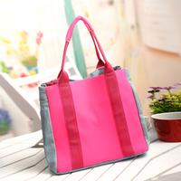 Neon bag canvas bag 2013 neon denim bag female street shoulder bag handbag