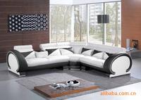 leather sofa set living room furniture