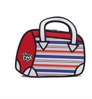 fashion free shipping Secondary yuan coin pocket 2d cartoon package bag birthday gift bag romantic gift bag lovely bag