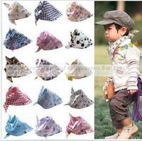 10pcs/lot baby bibs, baby boys girls scarf,burp cloths,toddler handkerchief,wholesale,fashion model, different colors