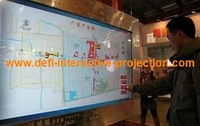 """70""""  Interactive touch foil, Thin and light, Driver support Windows XP/7/8, include 32 bit and 64 bit."""