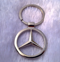 free shipping fashion car logo brand metal key chain keychain key ring key holder hot gift