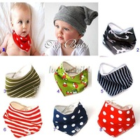 Free shipping!wholesale, super cute baby scarf, handkerchief,headband.10pcs/lot,in stock