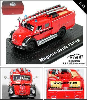 Water pump fire truck car model quality