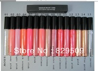 15pcs/lot Makeup Lip gloss 1.92g !! 15 Color !Free Shipping