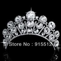 Wholesale 2013 Bling Bling Hair Accessories Crystal Rhinestone Wedding Crowns