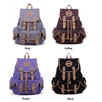 2013 New Fashion Women Canvas Satchel Tote Handbag Shoulder Bag Purse Backpack Bag
