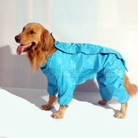 Free shipping With a hood raincoat wellsore pet clothes satsuma waterproof clothes clothing dorgan