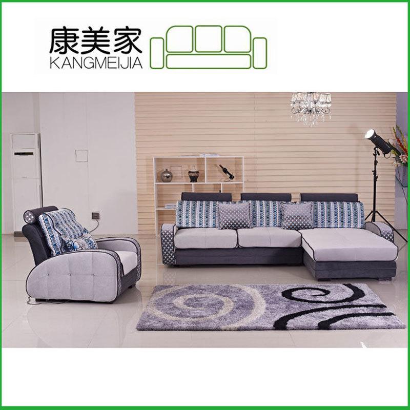 Factory direct customized minimalist modern modular living room furniture Desks contrast color fabric sofa 1025 #(China (Mainland))