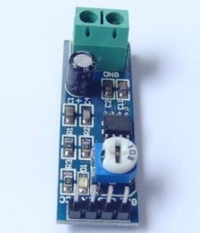 2pcs lot LM386 amplifier module speaker terminal blocks+free shipping