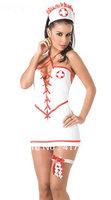 Женский эротический костюм No Brand ML5306 Infirmiere V ML5306 Nurse Costume