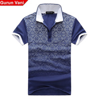 Gv quality limited edition 2013 new arrival stand collar male short-sleeve polo shirt men's clothing