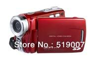 "Free Shipping 3.0"" touch TFT Digital Video Camera DV Camcorder Max 16MP 16X Digital Zoom dual SD card Slots dual Power DV-592II"