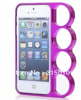 New design Knuckle Case for iphone5 5G Ring phone finger holder case for iphone5 5G free shipping
