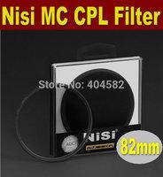 Free shipping 82mm NISI multi-coating ultrathin PRO MC CPL,Circular Polarizing CPL Camera Lens Filter