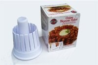 Free Shipping Plastic 2-in-1 Onion Blossom Maker Onion Slicing Guide & Core Remover, as seen on TV,M.O.Q 1SET H2309