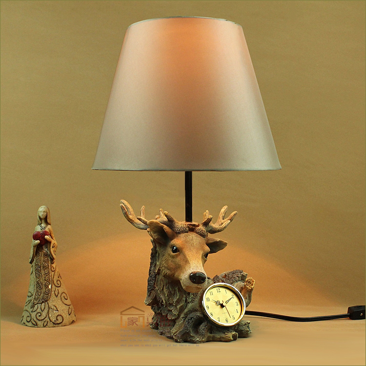 Table Lamp With Clock New Arrival Animal Table Lamp