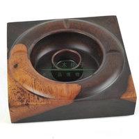 Sandalwood furnishings ashtray gift ashtray office decoration ashtray luxury ashtray