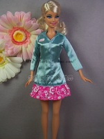 Free Shipping Genuine Clothes For Barbie Doll Fashion Dolls Clothes Nursing Staff Apparel