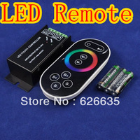 DC12V/144W, DC24V/288W LED RGB Controller With 8 Key RF Touch Remote, Brightness & Speed Adjustable Controller
