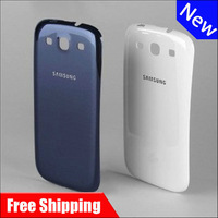 New Original Replacement Battery Back Cover Housing For Samsung GALAXY S III S3 GT-I9300 i9300 free shipping