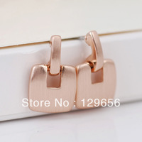 Hot Sale Viennois Rose Gold Plated Concise,Office Ladies Stud Earring,Costume Jewelry,Freeshipping