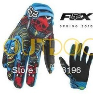 New Sport Cycling Bike Bicycle Racing Motorcycle Antiskid GEL Full Finger Silicone Gloves Pair Size Free shipping