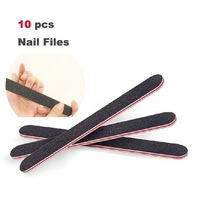 10pcs Good Quality Professional Nails Art File Buffing Sandpaper Nails Care Manicure Tool Wholesale Free shipping