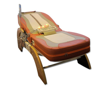New arrival luxury 2011 music physiotherapy bed lcd automatic lifting massage bed massage bed