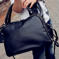 Hot high Quality Pu Leather Brief Women's Handbag Fashion Large Capacity All-match shoulder bags
