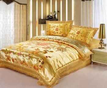 Home textile size 4pcs bedding sets/bedclothes/ duvet covers bed sheet the bed linen home textile727573