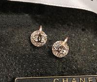 Sparkling ! new arrival 2012 titanium stud earring streamer rose gold earrings girls