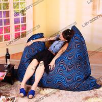 FREE SHIPPING outdoor bean bag chair water proof zebra bean bag POLYESTER beanbag 140*180cm bean bag factory
