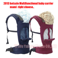 2013 hot sale cheapest Baby Carrier Top Baby Infant Sling Toddler wrap Rider Baby backpack free shipping