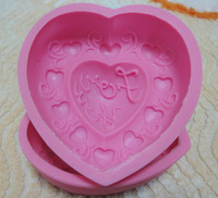 Handmade soap mould silica gel mould baking mould