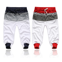 2013 trousers colorant match screw sports capris pants sports 216 k96 p25