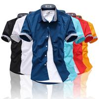 2013 male short-sleeve shirt slim casual short-sleeve shirt 216 dc02 p30