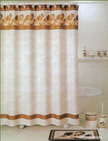 Water fabric shower curtain fabric little angel fashion roman blinds finished product