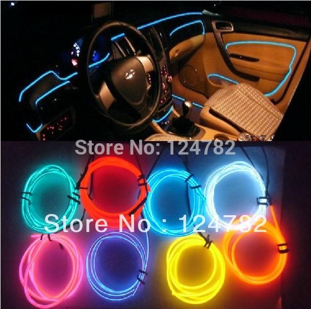 decoracao lampadas led:Atacado decoração do carro lâmpada Led Car atmosfera Lamp 3d EL luz