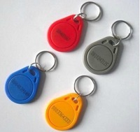 RFID key fobs 125KHz free shipping proximity ABS key tags/for access control with TK4100/EM 4100 chip