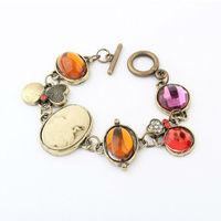 Free Shipping! Europe And The United States Fashion Royal Lady Gem Bracelet Jewelry Bracelet BL0168