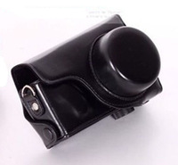 Leather Camera Case Bag For Sigma DP1M DP2M DP1 Merrill DP2 Merrill Black