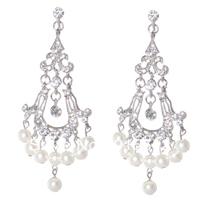 Hot Sale Bling Bling Simulated Diamond Drop Earring 2013